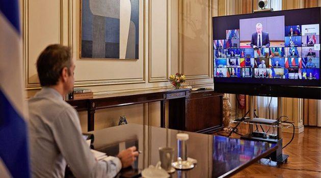 Σύνοδος Κορυφής: «Γόρδιος δεσμός» για Covid, Ρωσία και Τουρκία