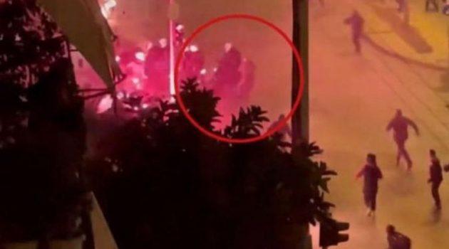 Αυτός είναι ο νεαρός που έριξε κάτω τον αστυνομικό στη Νέα Σμύρνη (Video)