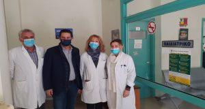 Στο Κέντρο Υγείας Αγρινίου ο Γ. Παπαναστασίου – Και τρίτη…