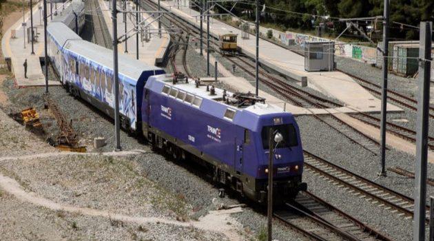 Πάτρα: Εκτροχιασμός τρένου στον σιδηροδρομικό σταθμό του Αγίου Ανδρέα