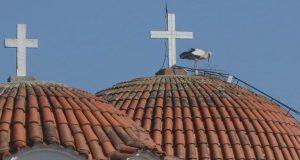 Παναιτώλιο: Ήρθε ο πρώτος πελαργός στο καμπαναριό της Αγίας Τριάδος…