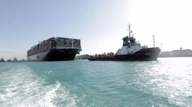 Άνοιξε η διώρυγα του Σουέζ, μένουν τα προβλήματα στο εμπόριο