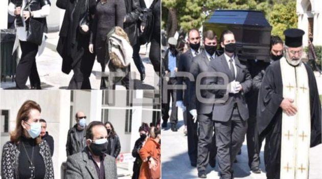 Θεόφιλος Βανδώρος: Θλίψη στην κηδεία του ηθοποιού (Photos)