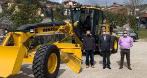 Δήμος Θέρμου: Νέο μηχάνημα έργων στη μάχη της Πολιτικής Προστασίας…