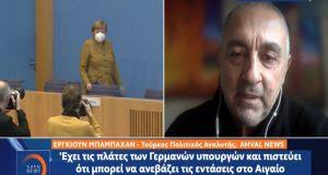 Eργκιούν Μπαμπαχάν: «Ο Ερντογάν δοκιμάζει τις αντοχές Ευρώπης και Αμερικής»…