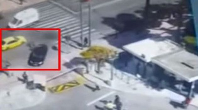 Βίντεο ντοκουμέντο: Η στιγμή του τροχαίου δυστυχήματος έξω από τη Βουλή
