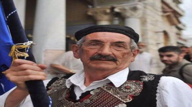 Πένθος στο Μεσολόγγι για τον θάνατο του Βασίλη Τσαρούχη