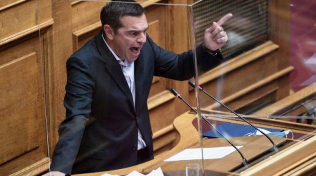 Τσίπρας: «Περήφανος» για τον Παππά – «Επικίνδυνος πρωθυπουργός» ο Μητσοτάκης