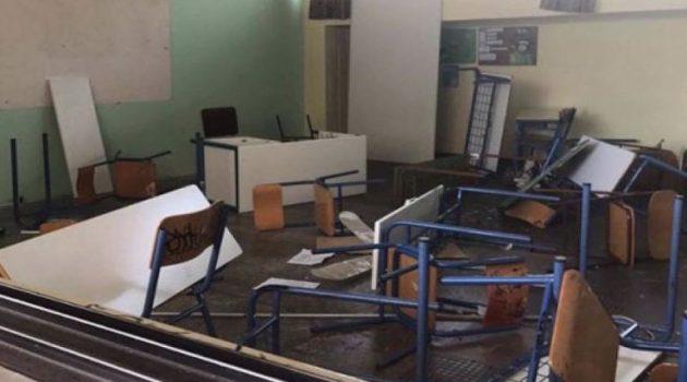 Αγρίνιο: Βανδαλισμοί στο 16ο Δημοτικό Σχολείο
