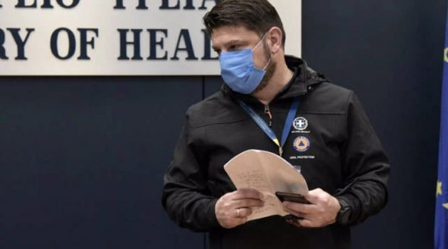 Αχαΐα: Ο Ν. Χαρδαλιάς θα προεδρεύσει σε σύσκεψη για την αξιολόγηση της πανδημίας