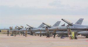 «Τράφικ» μαχητικών στην Ανδραβίδα – Ο «Ηνίοχος» φέρνει 100 πολεμικά…