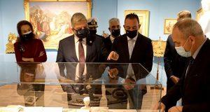 Εγκαίνια της έκθεσης για τους Αμερικανούς Φιλέλληνες στο νέο Μουσείο…