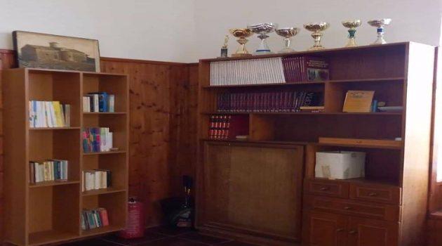 Ξεκίνησε η λειτουργία στη Μπαμπίνη δανειστικής βιβλιοθήκης