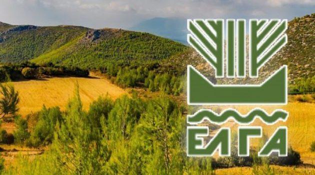 ΕΛ.Γ.Α.: 1,67 εκατ. ευρώ για αποκατάσταση ζημιών ή απώλεια παραγωγής – Δείτε τον πίνακα