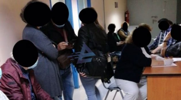 Αιτωλοακαρνανία: Συνωστισμός σε διάδρομο εμβολιαστικού κέντρου!