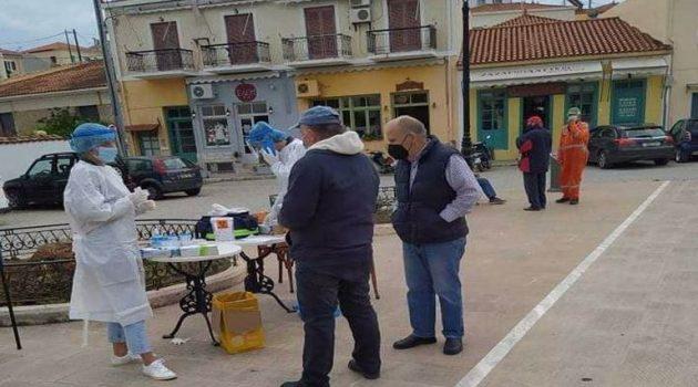 Αιτωλοακαρνανία – Ε.Ο.Δ.Υ.: Διενεργήθηκαν 179 Rapid Tests – Όλα αρνητικά