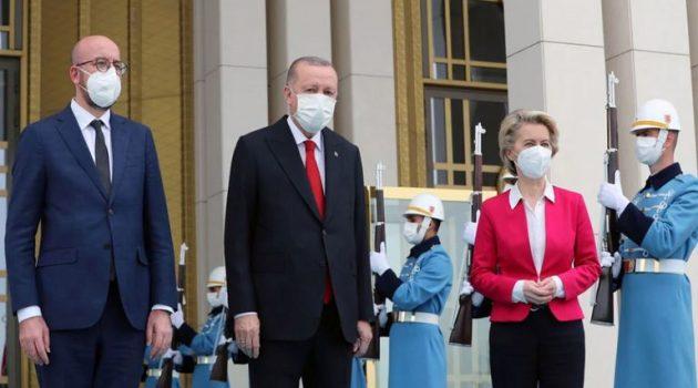 Βρυξέλλες: Αντιδράσεις για τη στάση Ερντογάν απέναντι στη Φον ντερ Λάιεν (Video)