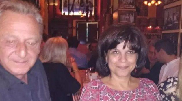 Τραγωδία στη Ναύπακτο – Έχασε τη μάχη με τον κορωνοϊό η σύζυγος του Κ. Καρακώστα, Νικολίτσα