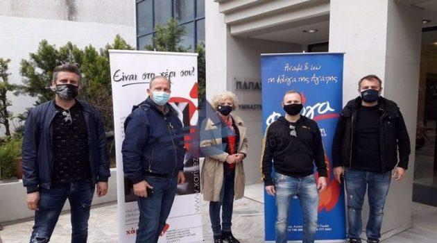 Αγρίνιο – Εθελοντική Αιμοδοσία: Μεγάλη η προσέλευση των πολιτών (Videos – Photos)