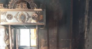 Γαβαλού – Ιερά Μονή Κατερινούς: Η πύρινη δοκιμασία (Photos)