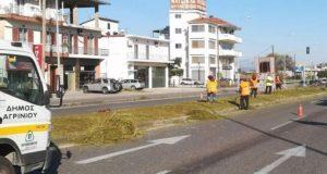Αγρίνιο – Ε.Ο.: Γκούντας και Γρίβας για τις εργασίες καθαρισμού…