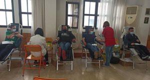 Θέρμο – Κωνσταντίνος Μαραγιάννης: «65 αιμοδότες, 55 μονάδες αίματος» (Photos)