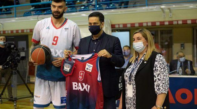 Η ομάδα μπάσκετ του Μεσολογγίου ευχαρίστησε το Αγρίνιο για την φιλοξενία