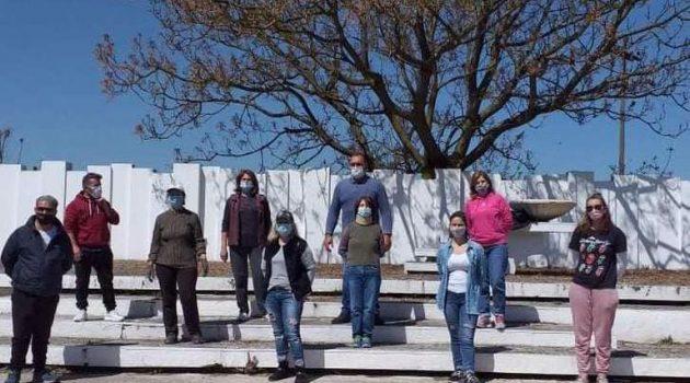 Καλύβια Αγρινίου: Εθελοντική δράση στο Μνημείο Εκτελεσθέντων (Photos)