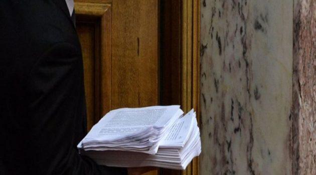Κατατέθηκε το ν/σ «σκούπα» για Αυτοδιοίκηση και Δημόσια Διοίκηση