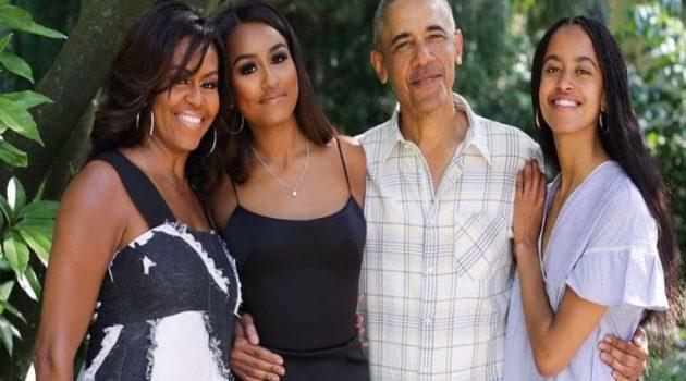 Μισέλ Ομπάμα: Αποκάλυψε την κακή συνήθεια που απέκτησαν οι κόρες της (Photos)