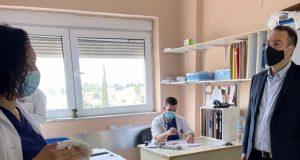 Επίσκεψη Θανάση Παπαθανάση στο Γενικό Νοσοκομείο Μεσολογγίου (Photos)