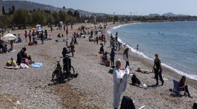 Με ελεύθερες διαδημοτικές μετακινήσεις γέμισαν παραλίες και πάρκα