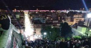 Πάτρα: «Έστησαν» πάρτι στην πλατεία Όλγας (Photos-Video)