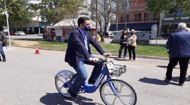 Τα ηλεκτρικά ποδήλατα παρουσίασε ο Δήμος Αγρινίου (Videos – Photos)