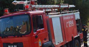 Φωτιά πήρε καμινάδα σπιτιού στην Μπούκα Αμφιλοχίας
