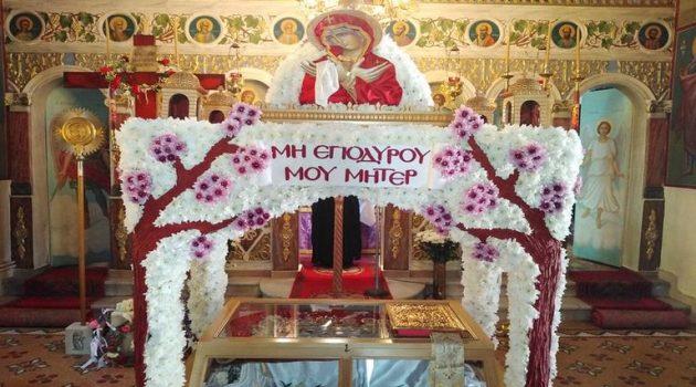 Εντυπωσιακός και φέτος ο Επιτάφιος στον Ιερό Ναό Αγίου Νικολάου Σκουτεράς (Photos)