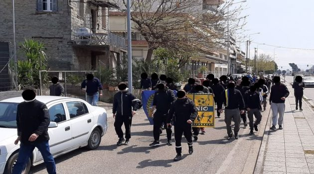 Αγρίνιο: Επικοινωνία οργανωμένων με παίκτες του Παναιτωλικού στο ξενοδοχείο (Photos)