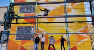 Μια νέα τοιχογραφία για το Μουσικό Σχολείο Λευκάδας (Photos)