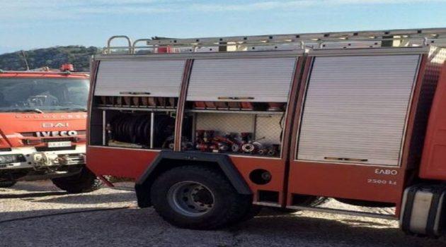 Τρύφος Αιτ/νίας: Κινητοποίηση της Π.Υ. Αμφιλοχίας για φωτιά (Photos)