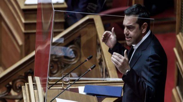 Τσίπρας: «Καταστρέψατε την εμπιστοσύνη των πολιτών»