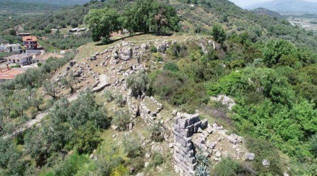 Καθαρισμός στον Αρχαιολογικό χώρο της Παλαιομάνινας Ξηρομέρου