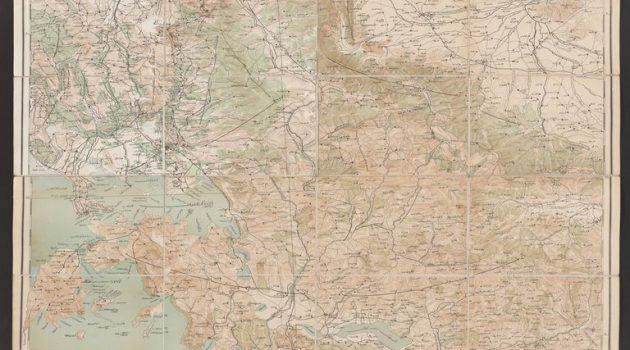 Σπάνιος επιτελικός οθωμανικός χάρτης της Αιτωλοακαρνανίας του 1901/02