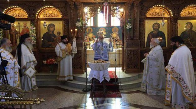 Αγρίνιο: Με λαμπρότητα η γιορτή των Αγίων Κωνσταντίνου και Ελένης (Photos)