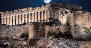 Τριπλή διεθνής διάκριση για τον νέο φωτισμό της Ακρόπολης