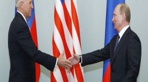 Μπάιντεν – Πούτιν: Στις 16 Ιουνίου θα γίνει η πρώτη συνάντηση