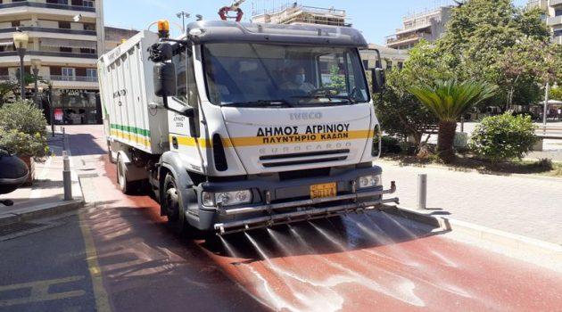 Κλειστό και την Τετάρτη το Δημαρχείο Αγρινίου – Οι απολυμάνσεις συνεχίζονται