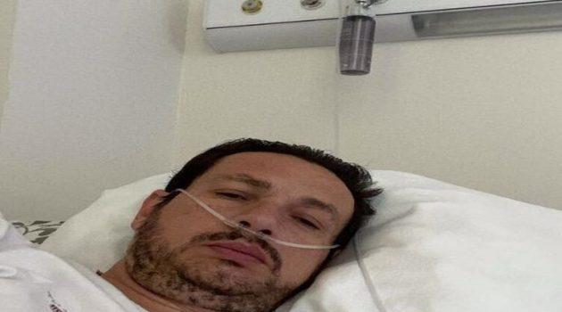 Στο Νοσοκομείο με κορωνοϊό ο «Ναυπάκτιος» Σταύρος Νικολαΐδης