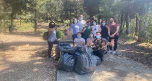 Αλσύλλιο Αγ. Χριστοφόρου Αγρινίου: Εθελοντές μάζεψαν 660 λίτρα σκουπιδιών