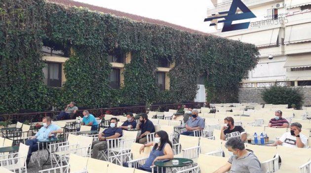 Αγρίνιο – «Ελληνίς»: Ο Ν. Παπαναστάσης για το Ν/Σ των εργασιακών (Video – Photos)