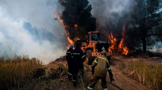 Φωτιά στην Κορινθία: Για βελτιωμένη εικόνα μιλά η Πυροσβεστική